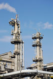 Chimneys of industrial plant Royalty Free Stock Photo