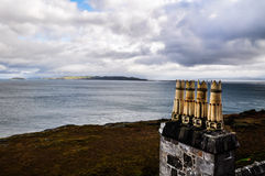 Chimneys on the Isle of Mull - Scotland, UK Stock Image
