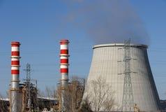 Chimneys Of Power Plant