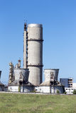 Chimneys of power plant, cooling towers Royalty Free Stock Photos