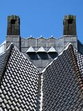 Chimneys and roof Stock Photos