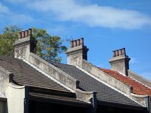 Chimneys Stock Photo