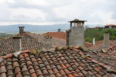 Chimneys 28 Royalty Free Stock Photos