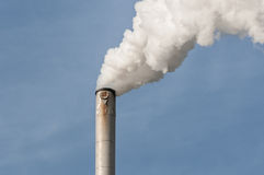 Chimnney Stack smoke Stock Photography