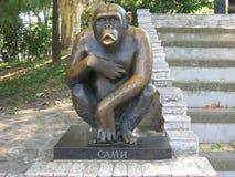 Chimpansee, Sami, Primaat, Beroemde Dierentuin, Monument, royalty-vrije stock foto's