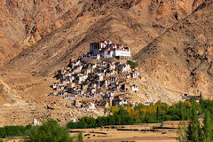 Chimray monastery, Ladakh, Jammu and Kashmir, India Royalty Free Stock Photography