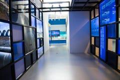 Chinês asiático, museu principal, Pequim, sul à exposição norte do projeto da diversão da água Fotografia de Stock Royalty Free