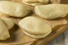 Chinês cozinhado caseiro Bao Buns imagem de stock