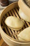 Chinês cozinhado caseiro Bao Buns foto de stock