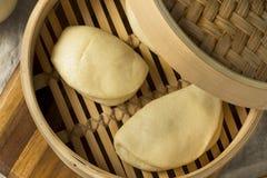 Chinês cozinhado caseiro Bao Buns imagens de stock