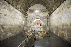 Chinês de Ásia, Pequim, túmulo de ŒUnderground do ¼ do palaceï de Œunderground do ¼ de Ming Dynasty Tombsï foto de stock royalty free