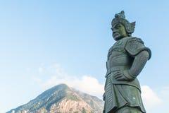 Chinês do deus da imagem da Buda, marco no sibilo de Nong, Hong Kong fotos de stock royalty free