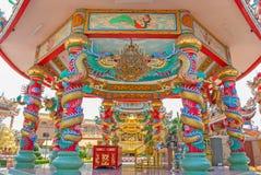 Chinês do dragão em Tailândia Fotografia de Stock