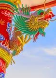 Chinês do dragão em Tailândia Imagem de Stock
