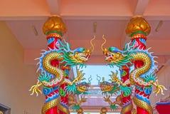 Chinês do dragão em Tailândia Foto de Stock Royalty Free