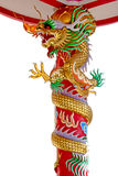Chinês do dragão em Tailândia Fotos de Stock Royalty Free