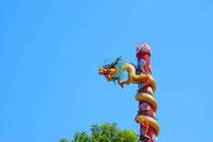 Chinês do dragão no país de Tailândia Imagens de Stock Royalty Free