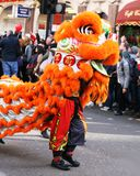 Chinês Dragon London Chinese New Year Foto de Stock Royalty Free