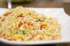 Chinês Fried Rice Authentic fotografia de stock royalty free