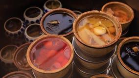Chinês Herb Soup em Vietname fotos de stock