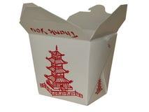 Chinês pequeno a ir caixa Fotos de Stock Royalty Free