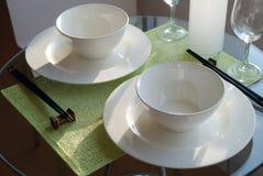 Chinês que janta 1 Fotos de Stock Royalty Free