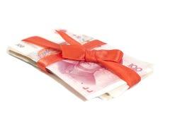 Chinês Yuan Money Gift Imagens de Stock