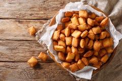 Chin-Kinn ist ein gebratener Snack in West-Afrika, größtenteils in Nigeria-ser stockfotos