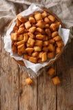 Chin-Kinn ist ein gebratener Snack in West-Afrika, größtenteils in Nigeria-ser lizenzfreies stockfoto