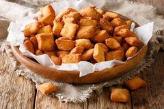 Chin-Kinn ist ein gebratener Snack in West-Afrika, größtenteils in Nigeria-ser stockbild
