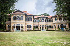 Chin-Pracha building in Chino-Protuguese pattern, Phuket, Thaila Royalty Free Stock Photos