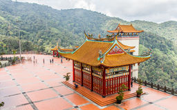 Chin Swee Caves Temple Genting Highlands Malaysia. This is the hall of Chin Swee Caves Temple Genting Highlands Malaysia Royalty Free Stock Photo
