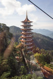 Chin Swee Caves Temple Genting Highlands Malaysia. This is the pagoda located in Chin Swee Caves Temple Genting Highlands Malaysia Stock Images