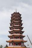 Chin Swee Pavilion Malaysia Arkivbilder