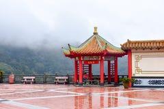 Chin Swee Temple Wishing Board stock afbeelding