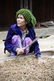 Chin tribe tattooed woman (Muun) Royalty Free Stock Photography