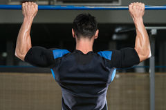 Chin Ups Workout For Back Stockfoto