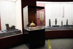 China Ásia, Pequim, o museu principal, chinês antigo, Chu Culture Exhibition Fotos de Stock Royalty Free