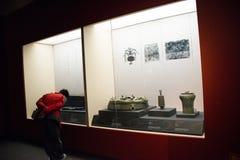 China Ásia, Pequim, o museu principal, chinês antigo, Chu Culture Exhibition Imagens de Stock