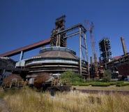 China abandonada de Pekín de la fábrica Imagenes de archivo