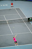 China abre el torneo 2009 del tenis Fotos de archivo