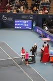 China abre el torneo 2009 del tenis Foto de archivo libre de regalías