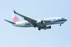 737-800 of China airline Stock Photography