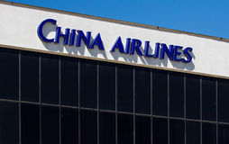 China Airlines-Anlage Stockfotos