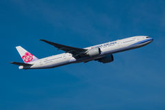 China Airlines Boeing 777 Foto de archivo