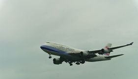China Airlines Boeing 747 Obrazy Stock