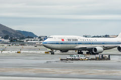China Airlines Boeing airplane Stock Image