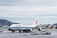 China Airlines Boeing airplane Royalty Free Stock Photos