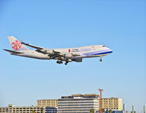China Airlines Cargo Jet Royalty Free Stock Photography