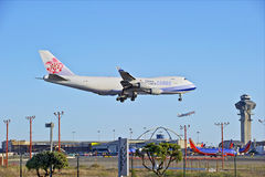 China Airlines Cargo Jet Royalty Free Stock Photos